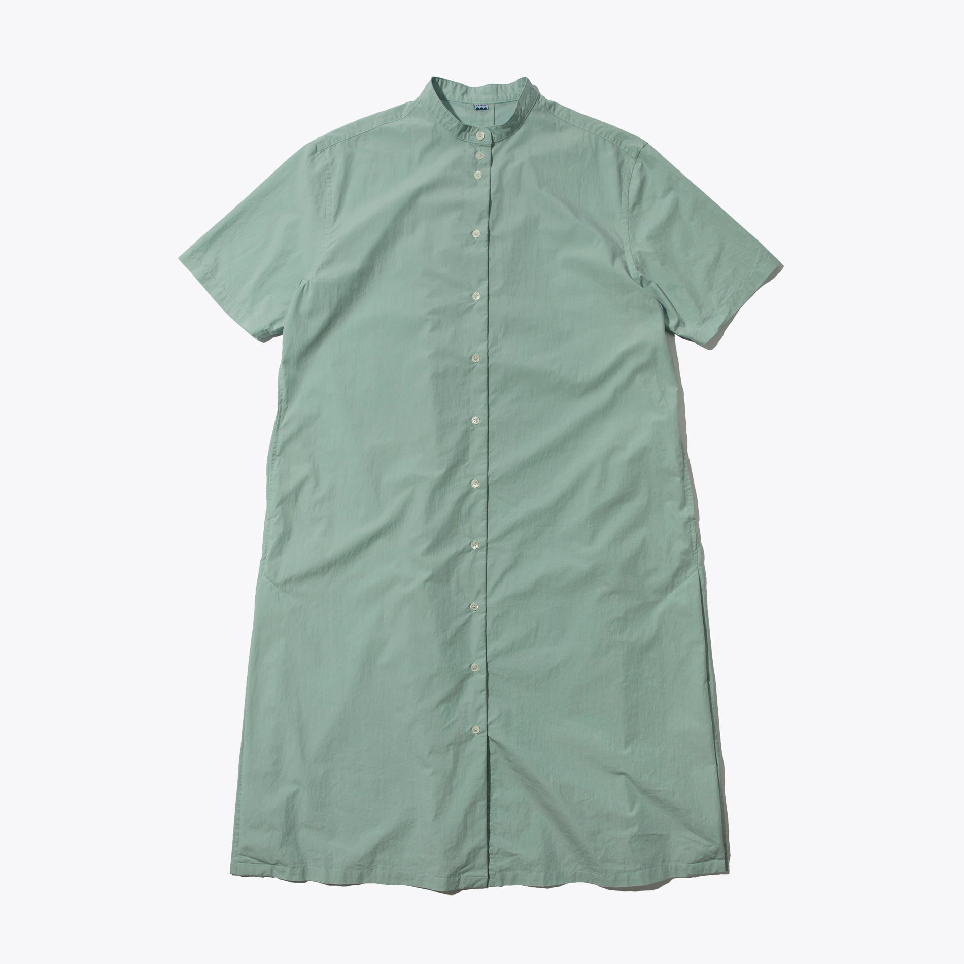 SHORT SLEEVES ONE-PIECE (MINT)