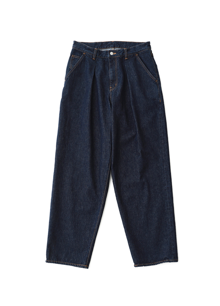 One Tuck Big Denim (Indigo)