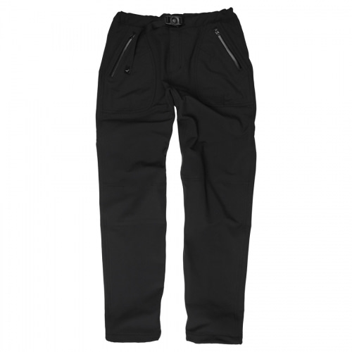 Thermo soft pants / black