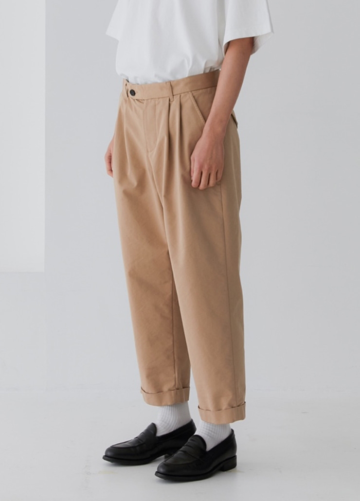 BIGBOY TURN-UP CHINO (BEIGE)
