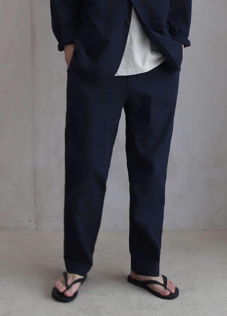 ALL WEATHE STANDARD PANTS NAVY (LINNEN)